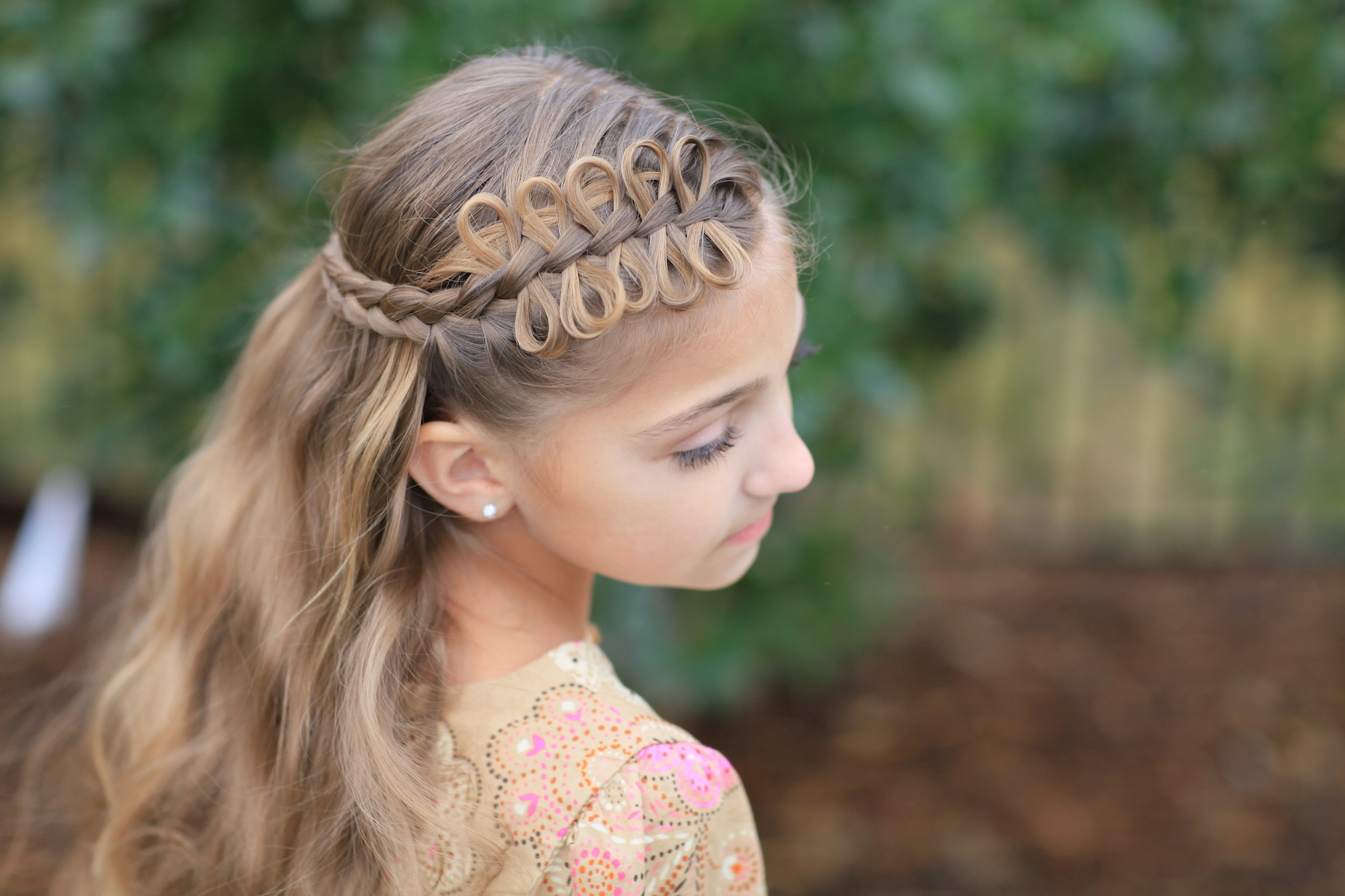Prim Bow Braid Tieback | Catching Fire | The Hunger Games