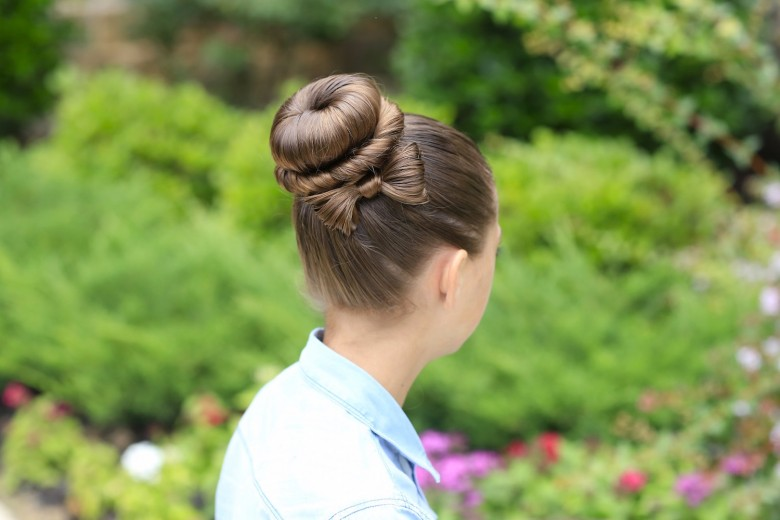 The Bow Bun   Prom Hairstyles